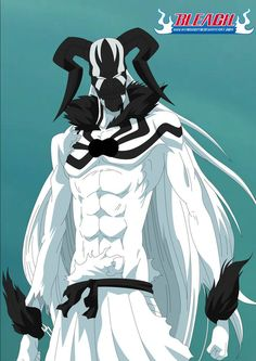 Shirosaki Vasto Lorde by kingvegito on DeviantArt Ichigo Hollow Mask, Bleach Ichigo Hollow, Bleach Ichigo Bankai, Ichigo Manga, Manga Bleach, Manga Anime, Bleach Fanart, Bleach Characters, Anime Characters