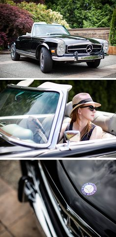 Fashion Designer Stacey Clark spends the day with us driving around in her classic 1969 Mercedes-Benz 280 SL to experience the magic of the place she calls home. Photos by Ryan Koopmans