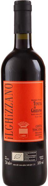 Tenuta Di Ghizzano - Costa Toscana - 2011 - made with Organic grapes -  95% Sangiovese/5% Merlot