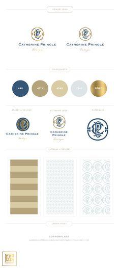 Branding Design For Catherine Pringle