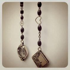 http://lemoderntrinket.com/ Upcycled handmade vintage Jewelry