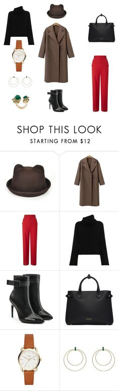 """""""Untitled #434"""" by tori-konkina on Polyvore featuring Miss Selfridge, Chloé, Off-White, Burberry, Ileana Makri and Stephen Webster"""