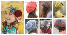 The weather is getting cooler. Fall is almost here! I have rounded up some fun Slouchy Crochet Hat Patterns to Keep Warm and Fancy for Fall!