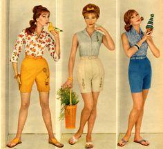 Evelyn Tripp (right) 1960 Shorts