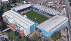 Hillsborough Stadium - Home of Sheffield Wednesday FC Football Tops, Football Stadiums, South Yorkshire, Yorkshire England, Civil Engineering Projects, All Over The World, Around The Worlds, Sheffield Wednesday Fc, Mexico City