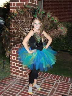 Peacock costume for this Halloween.