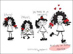 """Ruka de Colores y el """"Día de los Enamorados"""". XD Feliz fin de semana de colores. :) Ruka de Colores por Vero Tapia ©"""