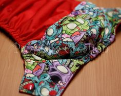 Adjustable cloth diaper with snaps / one-size by PapyranaCreations