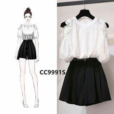 Asian Fashion, Look Fashion, Girl Fashion, Fashion Dresses, Womens Fashion, Pretty Outfits, Beautiful Outfits, Cute Outfits, Kpop Outfits
