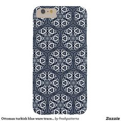 Ottoman turkish blue ware tracery design barely there iPhone 6 plus case