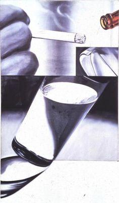 White Cigarette -- James Rosenquist