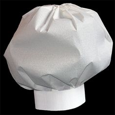 Toque de chef cuisinier : bricolage
