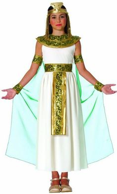 Child's Cleopatra Egyptian Queen Costume - Candy Apple Costumes - Kids' Deluxe Costumes