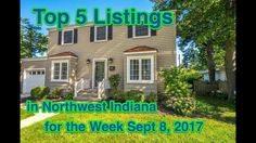 Top 5 Listings in Northwest Indiana for the Week of 2017 Crown Point, North West, Indiana, Neon Signs, Top, Spinning Top, Crop Shirt, Blouses