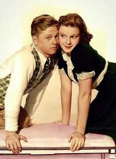 Mickey Rooney e Judy Garland Curta Cinema Classico