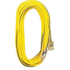 Extension Cord W/Lighted End HD, Orange