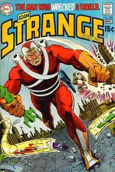 Dc - Dc Comics - Adam Strange - Havoc - Man Who Wrecked A World - Murphy Anderson