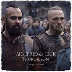 The Viking brothers. good and bad. Love me some Erik. but Sigefrid was cool too Vikings Show, Vikings Ragnar, Lagertha, Story Characters, Iconic Characters, Winchester, The Last Kingdom Series, O Tv, Viking Series