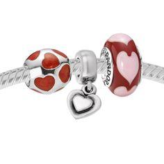 Pandora Red Hots Set