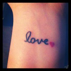 Small Inner Wrist Tattoo For Girls - Tattoes Idea 2015 / 2016