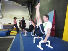 Read our 2 part interview and do the gymnastics workouts from Roger Harrell -- perfect for building basic & intermediate gymnastic skills!