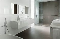 ... Modern Grey Bathroom Ideas: Posh Grey Bathroom Ideas With Tiles