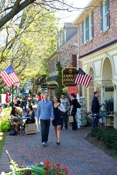 New Hope, PA Shopping heaven! Peddler's Village has more than 70 specialty shops, a hotel on-premises, 11 festivals and six tasty restaurants. Oh The Places You'll Go, Places To Travel, New Hope Pa, Bucks County, Weekend Getaways, Small Towns, Dream Vacations, Along The Way, Day Trips