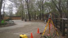 Brookfield Zoo - Wild Dog Exhibit Construction Layout