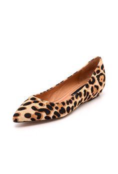 Leopard Haircalf Wedge