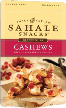 Cashews with Pomegranate + Vanilla - Sahale Snacks