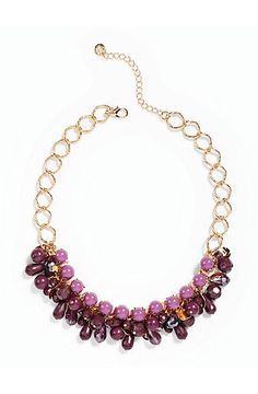 Talbots - Cluster Bead Bib Necklace | Jewelry |