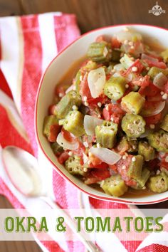 Okra and Tomatoes and Being Honest With Ourselves - Southern Bite (use vegetable broth instead of chicken broth)