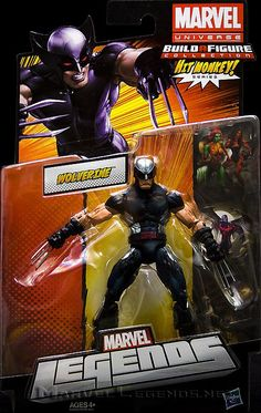 Marvel Legends Hit Monkey Series X-Force Wolverine