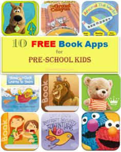 Ten Free Book Apps for Preschool Kids - The site has apps for various ages, some are available on Android.