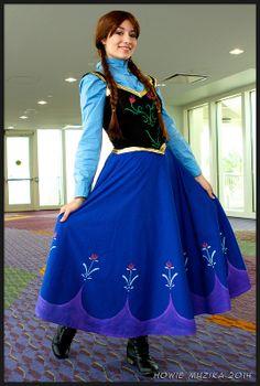 anna from frozen - Halloween Anna Costume