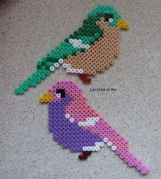 Perles a repasser : Oiseaux