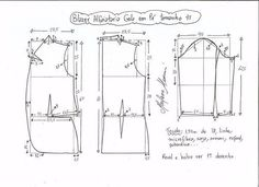Выкройка жакета женского (Шитье и крой) | Журнал Вдохновение Рукодельницы