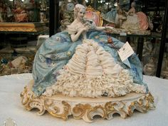 Dresden, Princess Figurine.