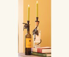 Bistro Bottle Candleholders - Home Accents - Home & Garden - NapaStyle