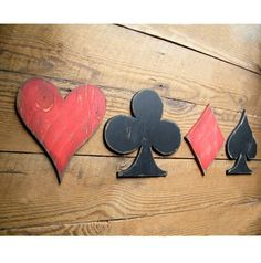 Jobs From Home Discover Wooden Card Symbols Sign Game Room Decor Heart Club Diamond Spade Playing Card Set 4 PC Poker Room Decor Card Symbols Sign Game Room Signs Heart Club by HavenAmerica Game Room Decor, Playroom Decor, Summer Decoration, Man Cave Games, Basement Games, Video Game Rooms, Man Cave Home Bar, Room Signs, Deco Design