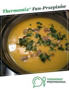 Prosta zupa z dyni jest to przepis stworzony przez użytkownika Elwira7832. Ten przepis na Thermomix<sup>®</sup> znajdziesz w kategorii Zupy na www.przepisownia.pl, społeczności Thermomix<sup>®</sup>. Sides For Chicken, Low Carb Side Dishes, Cheeseburger Chowder, Thai Red Curry, Bbq, Veggies, Soup, Keto, Ethnic Recipes