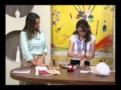 Mulher.com 09/11/2011 - Boneca de pano para porta de maternidade 2/2 - YouTube