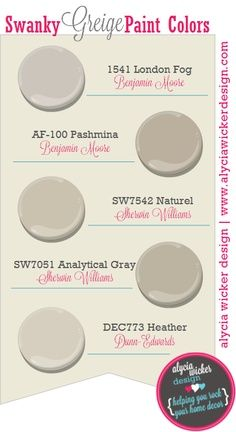 Benjamin Moore Greige Paint | Getting Ready to Decorate!