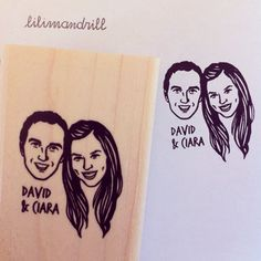 Custom Portrait Stamp @lilimandrill www.lilimandrill.fr #etsy #couples portraits #EtsyGifts #EtsySuccess #etsywedding #wedding #mariage #bride #diy #couple #stamp #rubberstamp #shopsmall #handmade #gift #weddinggift #invitations #weddinginvitations #invites #etsylove #etsymatch #engagement #bridesmaid