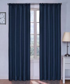 Denim Kids Kendall Eclipse Blackout Curtain Panel by Ellery Homestyles #zulily #zulilyfinds