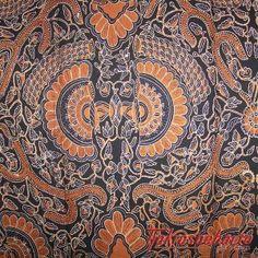 Tjokrosuharto collection. Batik Yogya 'Babon Angrem'