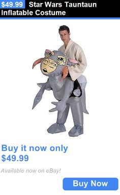 Halloween Costumes: Star Wars Tauntaun Inflatable Costume BUY IT NOW ONLY: $49.99