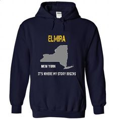 ELMIRA - Its where my story begins! - teeshirt #sweatshirt menswear #sweater for fall