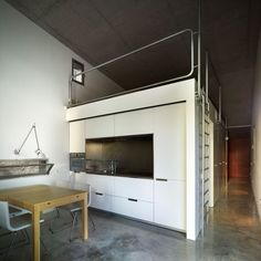 Unique Country Residence Existence: Versatile Decoration In Kitchen Of La Marseta With Wooden Table Between The White Chairs And Washtube To...