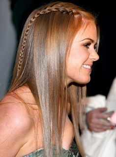 Romantic Celebrity Braided Hairstyles 2015